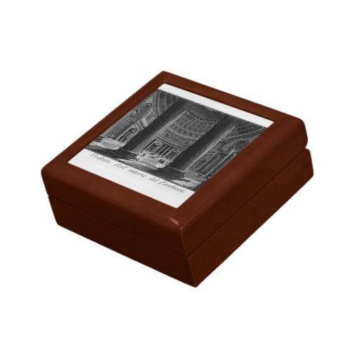 Giovanni Piranesi-Pantheon Keepsake Boxes
