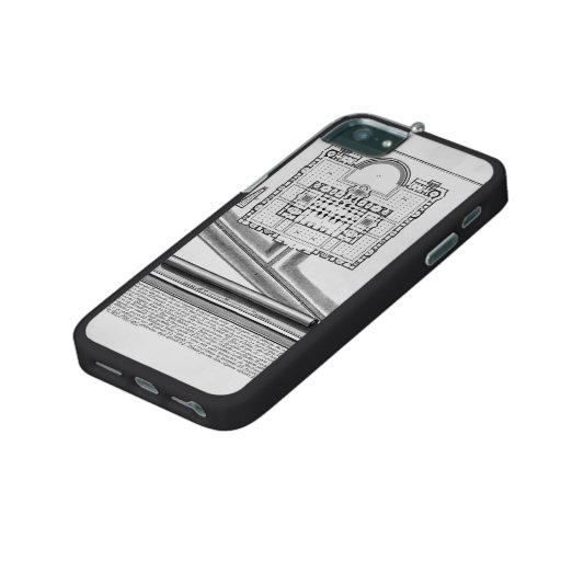 Giovanni Piranesi-Plan of the Baths of Diocletian iPhone 5/5S Cases