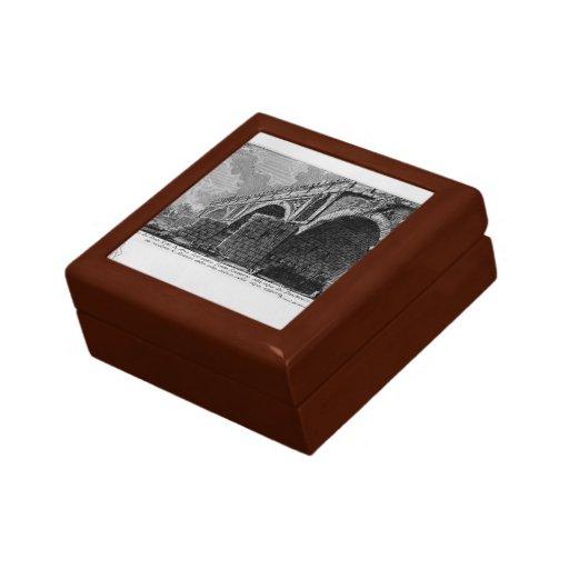 Giovanni Piranesi-Ponte Rotto Trinket Boxes