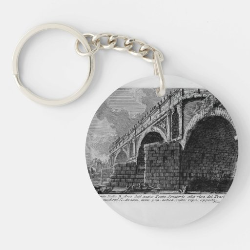 Giovanni Piranesi-Ponte Rotto Key Chain