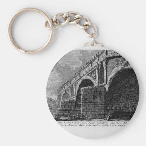 Giovanni Piranesi-Ponte Rotto Key Chains