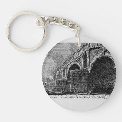 Giovanni Piranesi-Ponte Rotto Acrylic Keychain