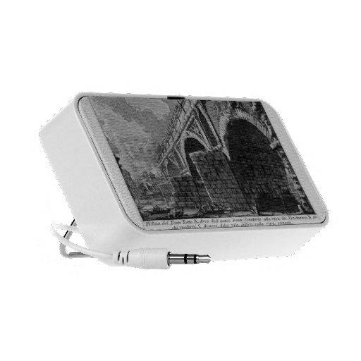 Giovanni Piranesi-Ponte Rotto Portable Speaker