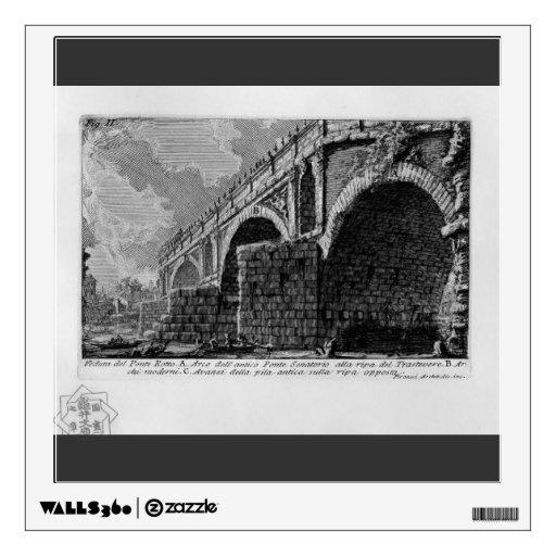 Giovanni Piranesi-Ponte Rotto Room Graphic