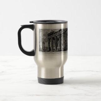 Giovanni Piranesi- Temple of Antonius and Faustina 15 Oz Stainless Steel Travel Mug