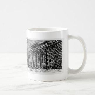 Giovanni Piranesi- Temple of Antonius and Faustina Classic White Coffee Mug