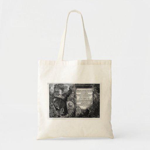 Giovanni Piranesi- The Roman antiquities Bags