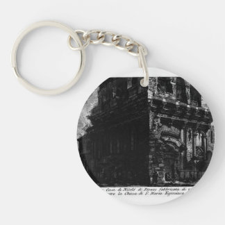 Giovanni Piranesi-The Roman antiquities Acrylic Key Chain