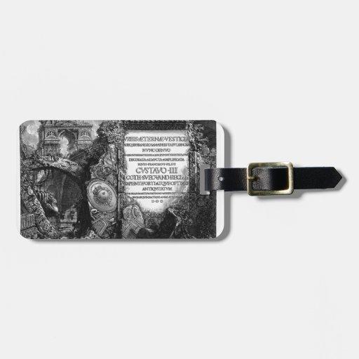 Giovanni Piranesi- The Roman antiquities Luggage Tags