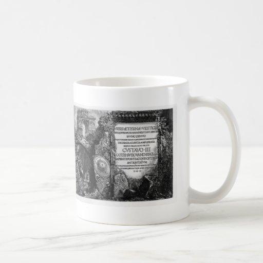 Giovanni Piranesi- The Roman antiquities Classic White Coffee Mug