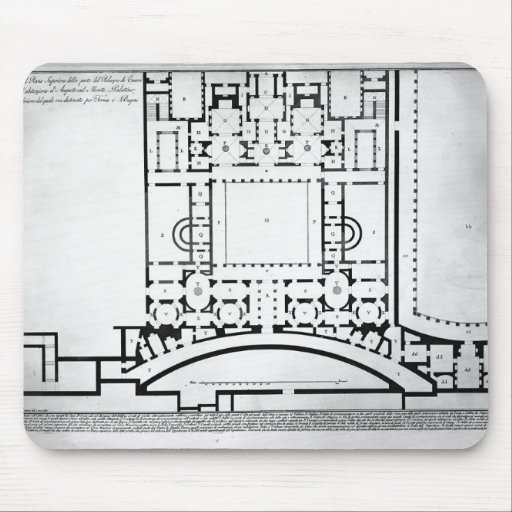 Giovanni Piranesi- The Roman antiquities of horns Mouse Pad