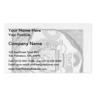 Giovanni Piranesi-The Roman antiquities of Stadium Double-Sided Standard Business Cards (Pack Of 100)