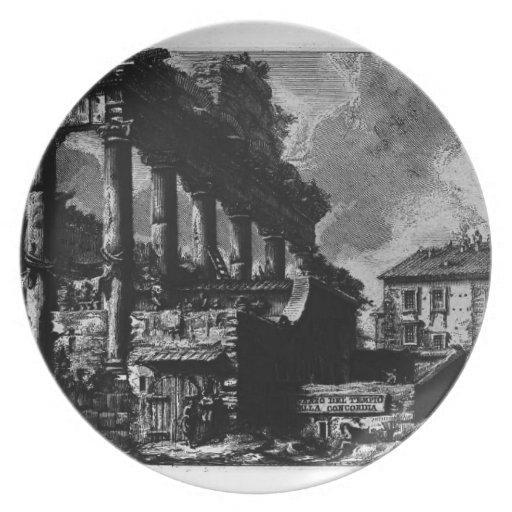 Giovanni Piranesi- The Roman antiquities Party Plate