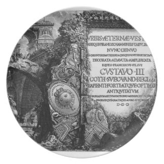 Giovanni Piranesi- The Roman antiquities Party Plate