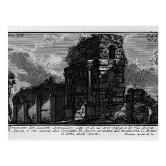 Giovanni Piranesi- The Roman antiquities Post Card