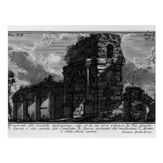 Giovanni Piranesi- The Roman antiquities Postcard