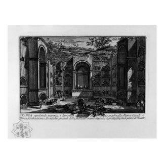 Giovanni Piranesi-Tomb near Porta San Sebastiano Postcard