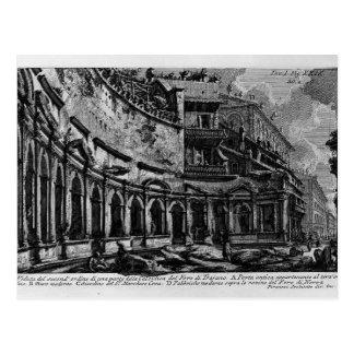 Giovanni Piranesi-Trajan`s Market Postcard