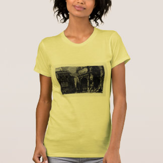 Giovanni Piranesi-Veduta with Arch of Titus Tshirts