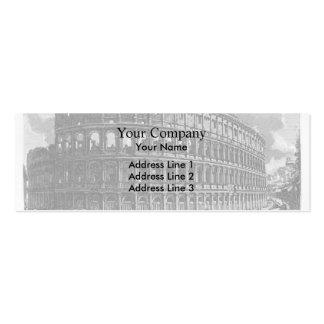 Giovanni Piranesi- View of Flavian Amphitheatre Business Cards