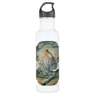 Giovanni Segantini - ángel de la vida Botella De Agua