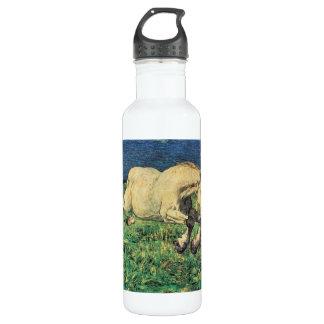 Giovanni Segantini - caballo galopante Botella De Agua