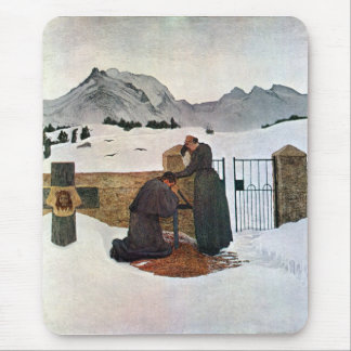 Giovanni Segantini - el dolor del luto Alfombrillas De Ratones
