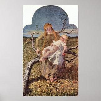 Giovanni Segantini - Fruit of Love Posters