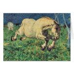 Giovanni Segantini - Galloping horse Greeting Card