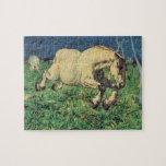 Giovanni Segantini - Galloping horse Jigsaw Puzzles