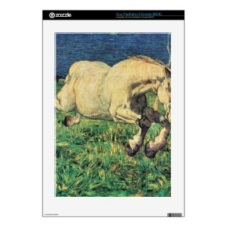 Giovanni Segantini - Galloping horse PS3 Decal