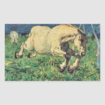 Giovanni Segantini - Galloping horse Sticker