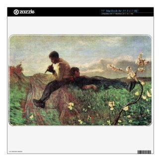 Giovanni Segantini - Idyll Skin For The MacBook