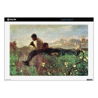 Giovanni Segantini - Idyll Laptop Skins