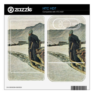Giovanni Segantini - Return from the forest Decals For HTC HD7