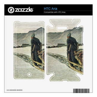 Giovanni Segantini - Return from the forest HTC Aria Decals