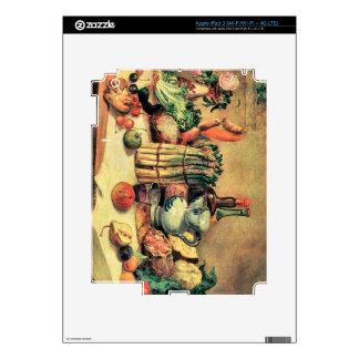 Giovanni Segantini - Still Life iPad 3 Skin