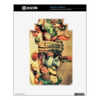 Giovanni Segantini - Still Life Kindle Skin