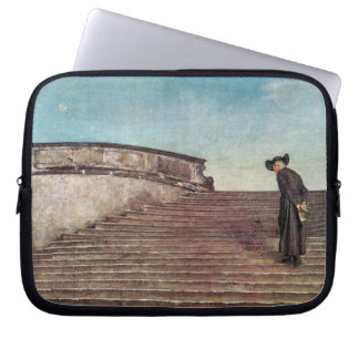 Giovanni Segantini - The first trade fair Laptop Sleeve