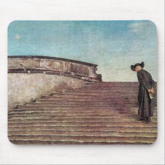 Giovanni Segantini - The first trade fair Mousepad