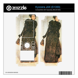 Giovanni Segantini - Woman with white-dotted dress Kyocera JAX Decals