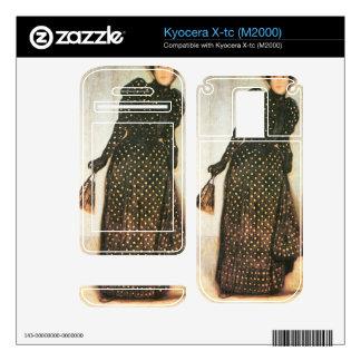 Giovanni Segantini - Woman with white-dotted dress Skin For Kyocera X-tc