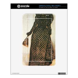 Giovanni Segantini - Woman with white-dotted dress Samsung Galaxy Tab Skins