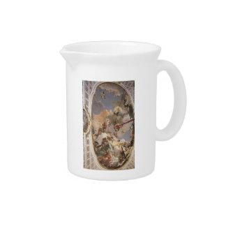 Giovanni Tiepolo:Apotheosis of Spanish Monarchy Drink Pitcher