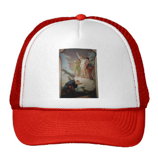 Giovanni Tiepolo:Appearance of angels to Abraham Trucker Hat