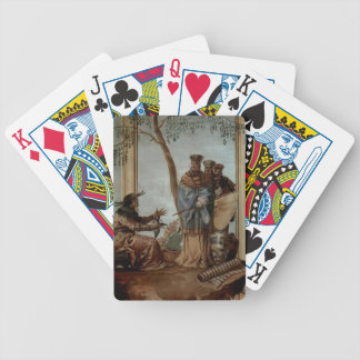 Giovanni Tiepolo:Chinese prince in fortune tellers Poker Deck