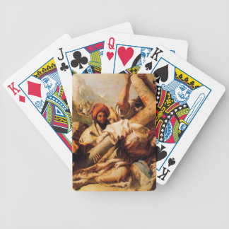 Giovanni Tiepolo-Christ's Fall on way to Calvary Bicycle Poker Cards