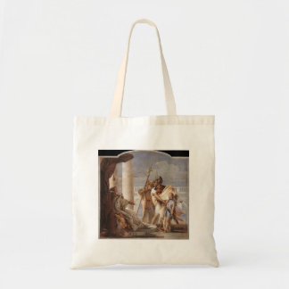 Giovanni Tiepolo:Dido disguised as Ascanius Canvas Bags
