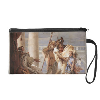 Giovanni Tiepolo:Dido disguised as Ascanius Wristlet Purse