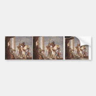 Giovanni Tiepolo:Dido disguised as Ascanius Bumper Sticker